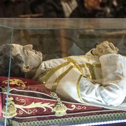 Ispirò l'opera di don Bepo Vavassori  Al «Patronato» l'urna di don Bosco