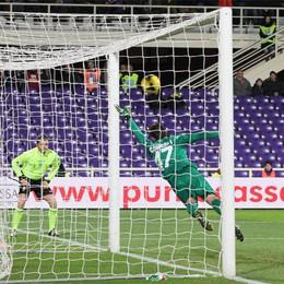 L'Atalanta ancora ko in trasferta:  2-0 per la Fiorentina. Rosso a Ciga