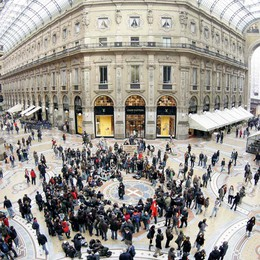 Galleria a Milano, nuovo look  Al via martedì, l'impresa è  Percassi