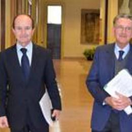 Il bilancio d'addio di Zanetti  «La banca ha i conti in ordine»