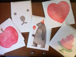 I disegni di Valentina Monti