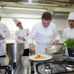 Chicco Cerea agli aspiranti cuochi  «Fare lo chef è fatica, altro che tv»