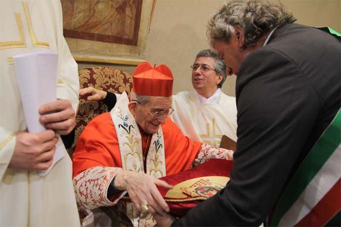 Grande festa per il cardinale Loris Capovilla