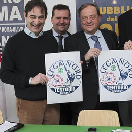 Lega Nord, il simbolo «Con Tentorio»  E il Psi sostiene la candidatura di Gori