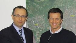 Francesco De Lucia con Giorgio Gori