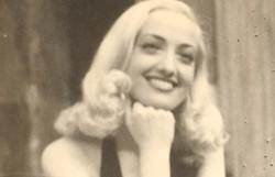 Umbertina Gamba negli anni '40