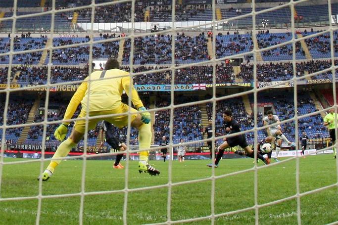 Il primo gol di Bonaventura