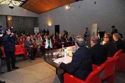 Un momento della tavola rotonda 'La Regione incontra il sistema Bergamo per Expo Milano 2015'