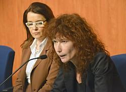 Mara Azzi e Maria Cristina Cantù