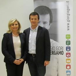 L'Italia dei Valori con Giorgio Gori  Il partito entra nella coalizione