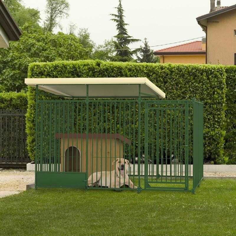 La gestione del cane all aperto amici con la coda bergamo for Recinto cani fai da te