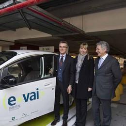 Il car-sharing raddoppia  E ora debutto a Oriocenter