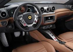L'interno della Ferrari California