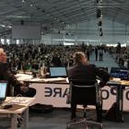 Fusione Creberg: valanga di sì  Maxi assemblea Banco a Verona