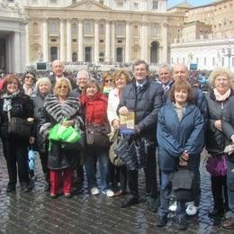 I cavalieri dell'Unci dal Papa  per i 20 anni del Premio della Bontà