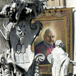 In cammino verso la canonizzazione/1  Reliquiari gemelli per i due  santi