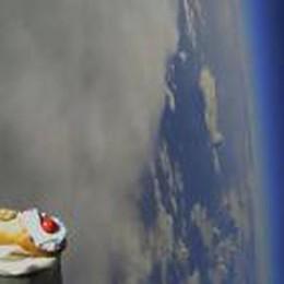 Il cannolo siciliano nello spazio