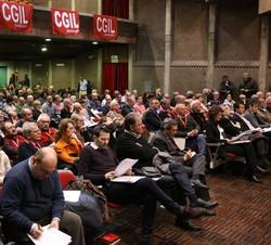 Al congresso della  Cgil