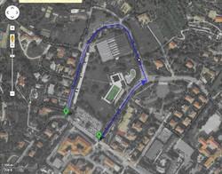 Il tracciato della linea 2 modificato