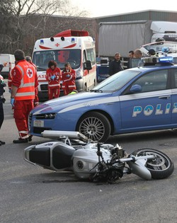 L'incidente mortale in via Monte Gleno
