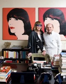 Mariuccia Mandelli con il marito Aldo Pinto