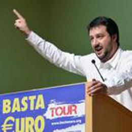 Il «Basta €uro Tour» a Bergamo:  domenica 13 aprile al Mascheroni