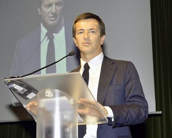 Giorgio Gori durante il suo intervento