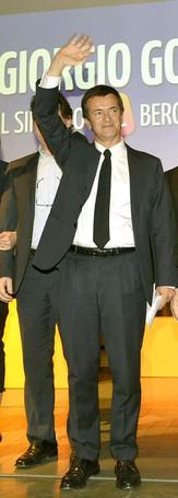 Giorgio Gori, candidato del centrosinistra