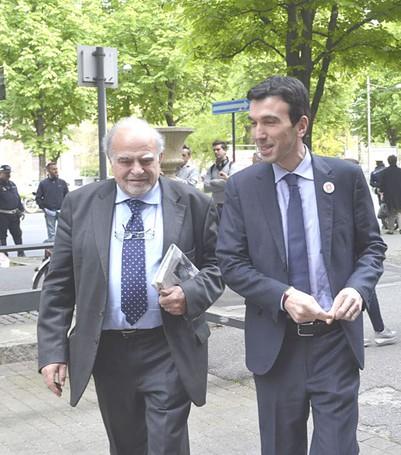 Savino Pezzotta e Maurizio Martina