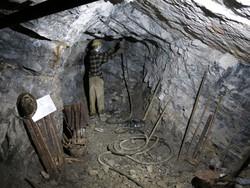 Galleria nella miniera della Val del Riso