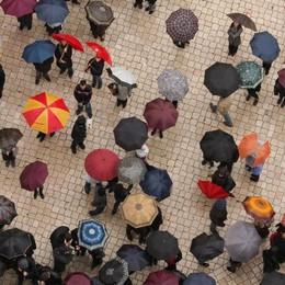 Pasqua, pronti con l'ombrello?  Ripeschiamo il cappotto...