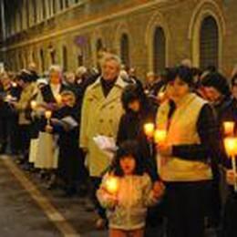 Stasera alle 20,30 la Via Crucis  Si snoderà nelle vie della città
