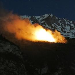 V. Seriana in fiamme, 13 roghi L'appello: cittadini segnalate