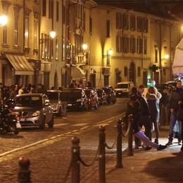 Borgo Santa Caterina taglia gli orari  Una movida con più sicurezza e pulizia