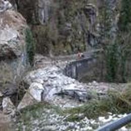 Frana in Val Serina: buone notizie  Arrivano 1,2 milioni dalla Regione