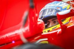 Alonso sulla Ferrari in Cina