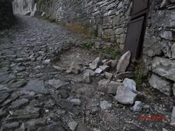 Le condizioni della scaletta dello Scorlazzone