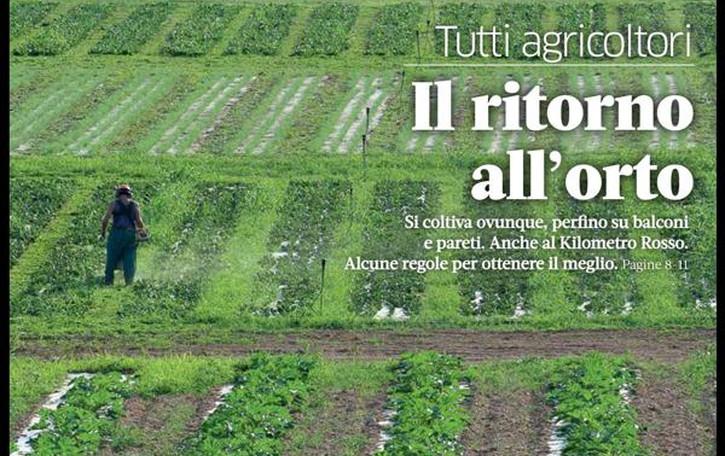 Corsa all'agricoltura, orti, energia  L'ultimo numero di eco.bergamo