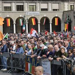Bergamo commemora il 25 aprile  In 2 mila al corteo in centro città