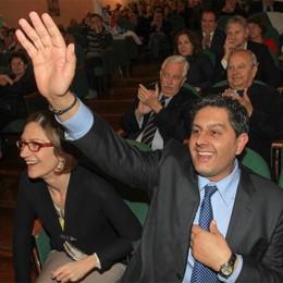 «Toglieremo il sorriso a Renzi»  Toti lancia Tentorio e boccia Gori