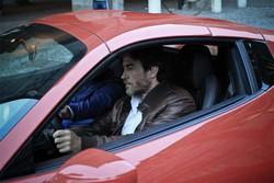 Alessio Boni in Ferrari in Città Alta per il cortometraggio