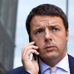 Renzi, telefonate a sorpresa Chiama Beschi e Sotto il Monte