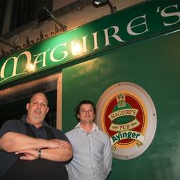 15 candeline per il Maguire's Il pub dove la gente si incontra