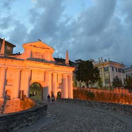 Mura e candidatura per l'Unesco  C'è  un «marchio» dei bergamaschi