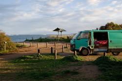 Il minivan con cui Giovanni ha girato l'Australia