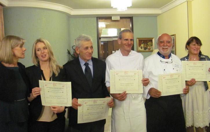 Cucina e vini orobici  premiati a Montegrotto