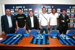 Gli acquisti dell'Atalanta 2006/2007 :Doni, Abeijon e Talamonti