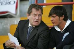 Ivan con suo figlio Alessandro nel 2005