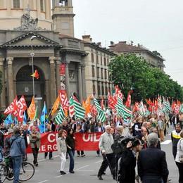 Alle 10 parte il corteo del 1° Maggio  «Lavoro, Europa e solidarietà»