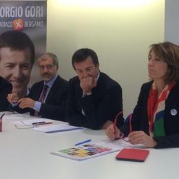 Ecco la Bergamo secondo Gori  «Moderna, con il lavoro al centro»